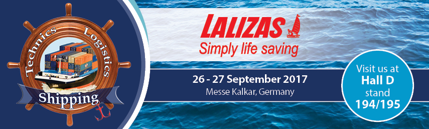 LALIZAS at Shipping Technics Logistics 2017