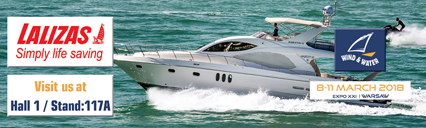 LALIZAS at Wind and Water Boat Show 2018