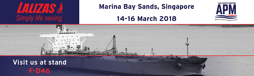 LALIZAS at Asia Pacific Maritime 2018
