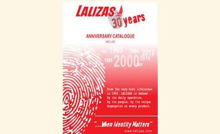 New Anniversary  LALIZAS Catalogue 2012