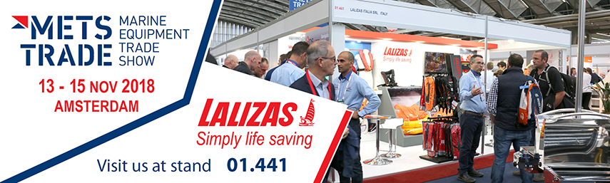 LALIZAS at METS TRADE 2018