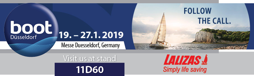 "LALIZAS brand is attending once more the ""boot"" Düsseldorf."