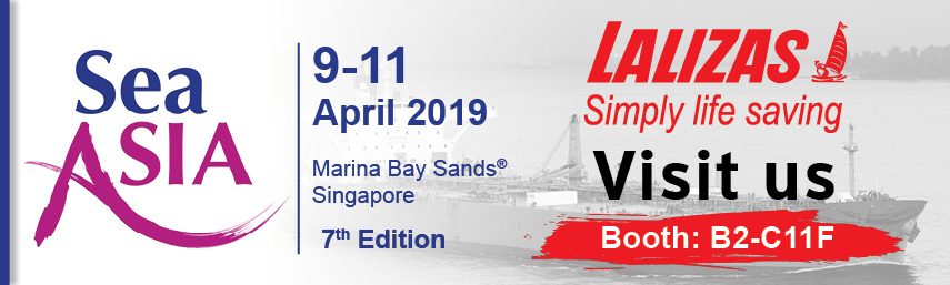 LALIZAS at SEA ASIA 2019