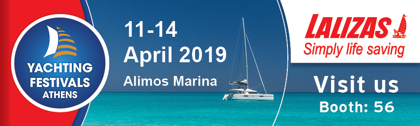 LALIZAS at Athens Yachting Festival 2019