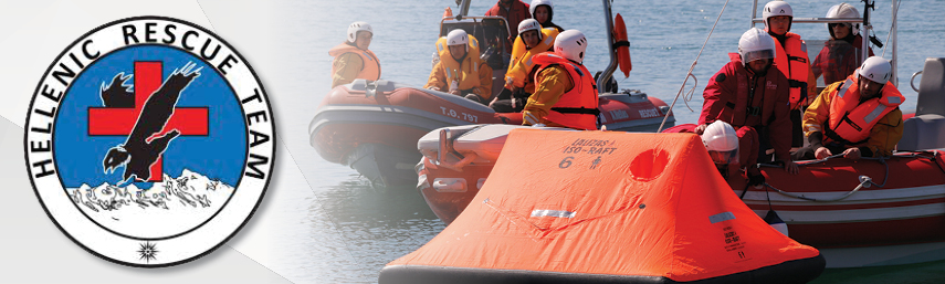 24 hours in a LALIZAS life raft: LALIZAS supports the Hellenic Rescue Team