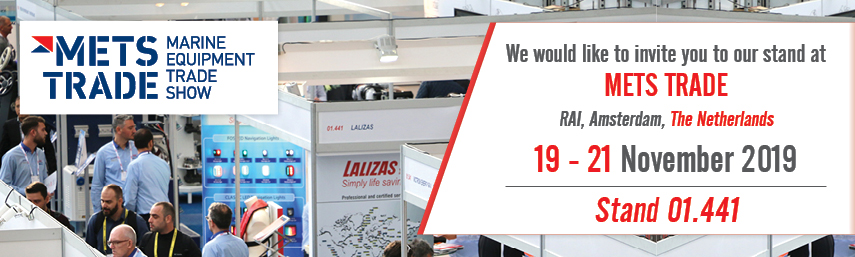 METSTRADE 2019: LALIZAS proudly counts 26 continuous years in the show!