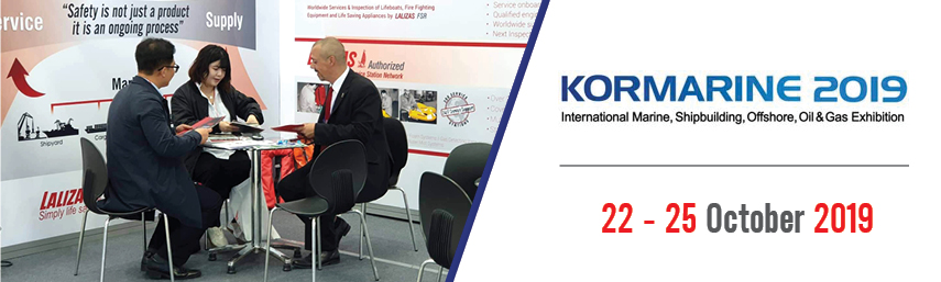 LALIZAS team travelled to South Korea, communicating its expertise at KORMARINE 2019!