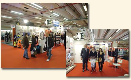 LALIZAS participation at PARIS BOAT SHOW 2011