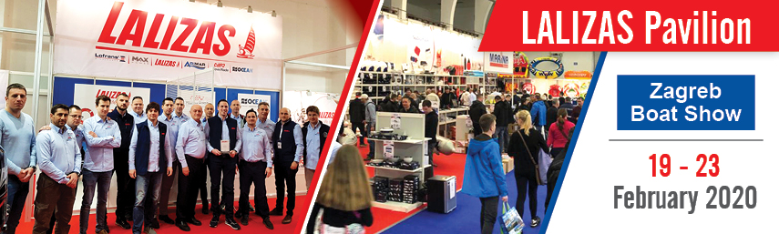 LALIZAS Pavilion attracts enormous crowds and attention during Zagreb Boat Show 2020