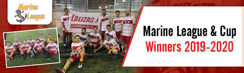 LALIZAS FC: Marine League Champions and Cup Winners 2019-2020!