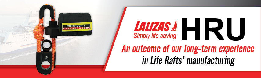 LALIZAS launches its Hydrostatic Release Unit for Life rafts