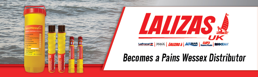 LALIZAS UK Becomes a Pains Wessex Distributor