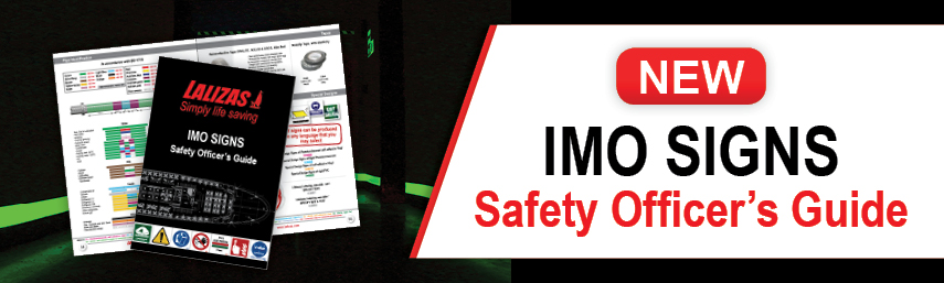 New IMO Signs Guide by LALIZAS