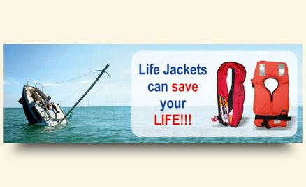 Life Jackets can save your life!