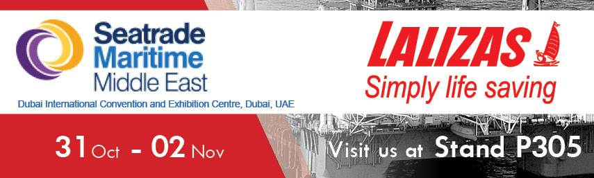 LALIZAS at Seatrade Maritime Middle East 2016