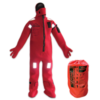 LALIZAS Immersion Suit 'Neptune',SOLAS,Universal, Insulated - with neoprene gloves 70454 image