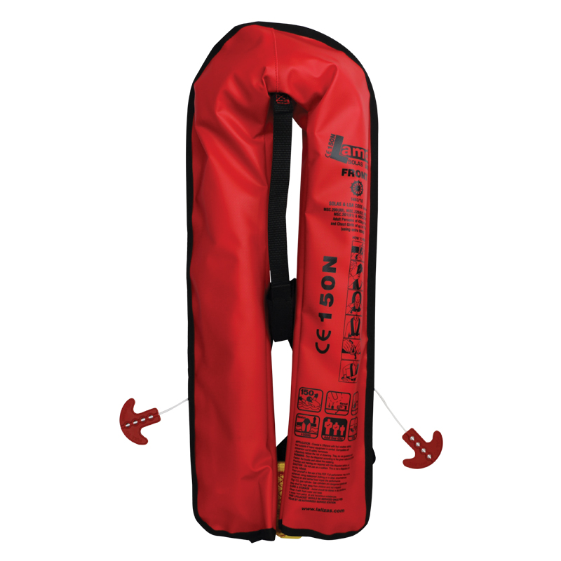 LALIZAS Inflatable Lifejacket Lamda Auto 150N, SOLAS/MED 71107 image