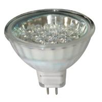 Bulb 12V, LED, MR16, G5.3, cool white – 10 SMDs 71225 image