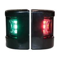 FOS LED 12 Set Port & Starboard light side mount 112,5° with black housing 71299 image