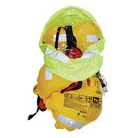 LALIZAS Infl.Lifejacket Adv.Lamda Auto 330N w/spray hood, SOLAS/MED,w/crotch 72115 image