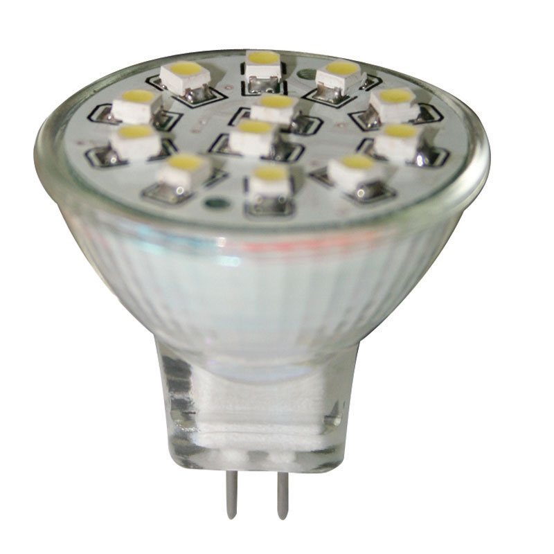 Bulb 12V, LED, MR11, cool white - 12 SMDs image