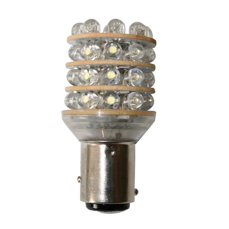 Bulb 12V, LED, T25 BAY15D, cool white - 36 LEDs image