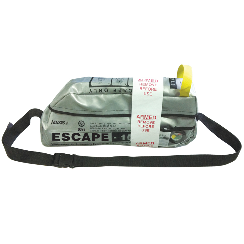 "LALIZAS Emergency evacuation Breathing device""ESCAPE-15"" image"