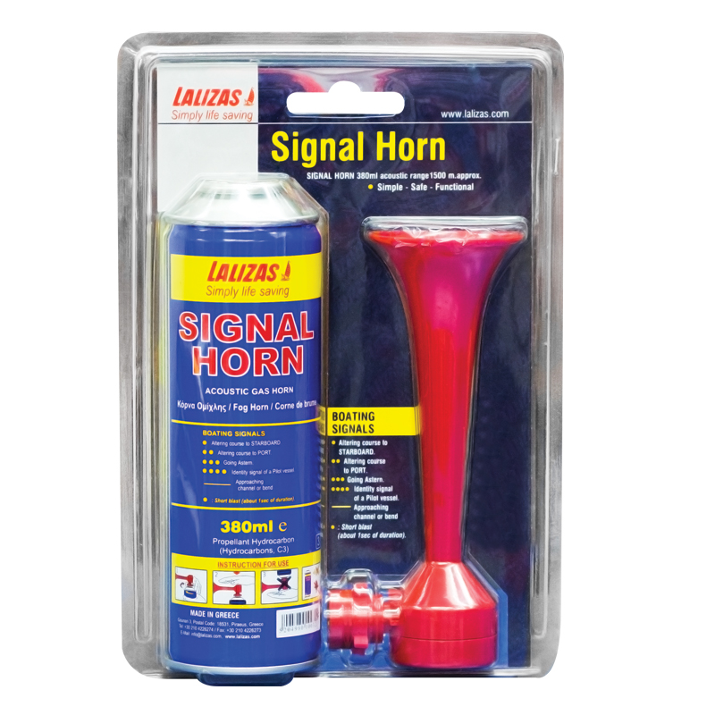 Signal horn set - 380ml image