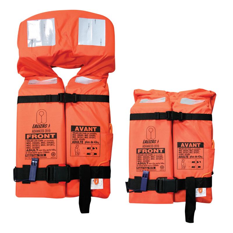 Solas Foam Lifejackets