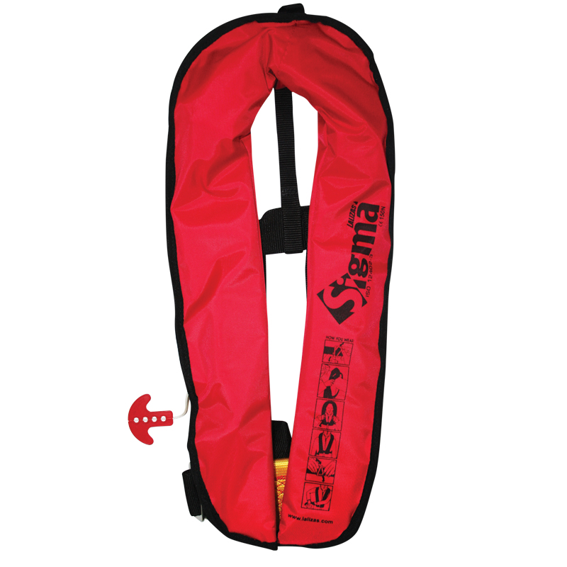 Sigma Inflatable Lifejacket 170N,  ISO 12402-3 image