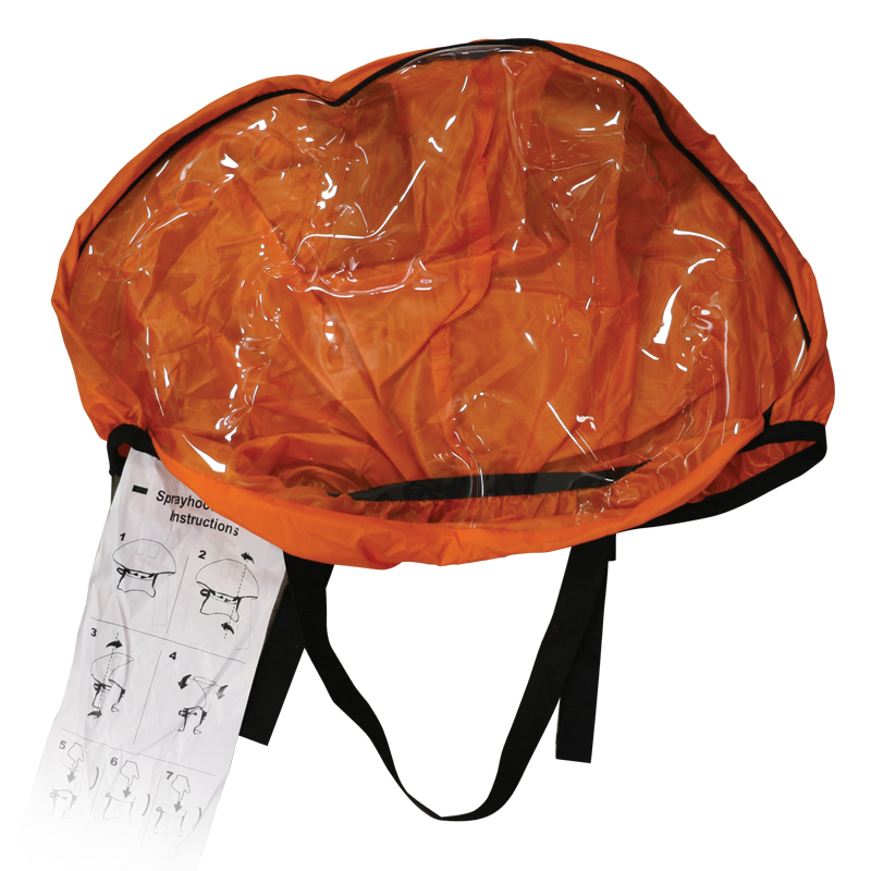 Lalizas Sprayhood (ISO 12402-8) for Infl. LifeJackets ΙSO 12402-3 image