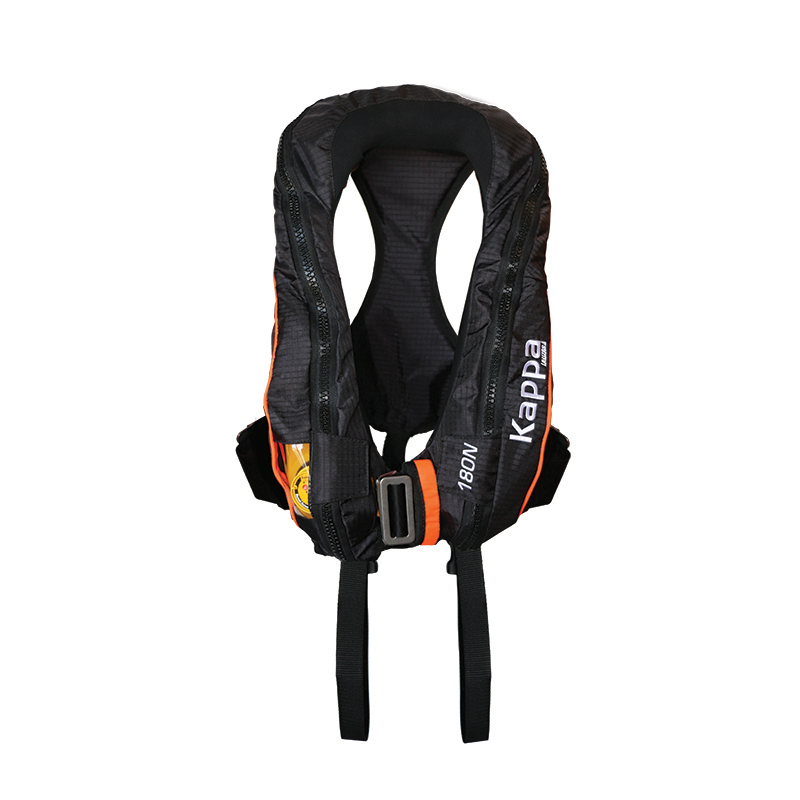 Kappa Inflatable Lifejacket, Auto, Adult,180N, ISO 12402-3 with double crotch image