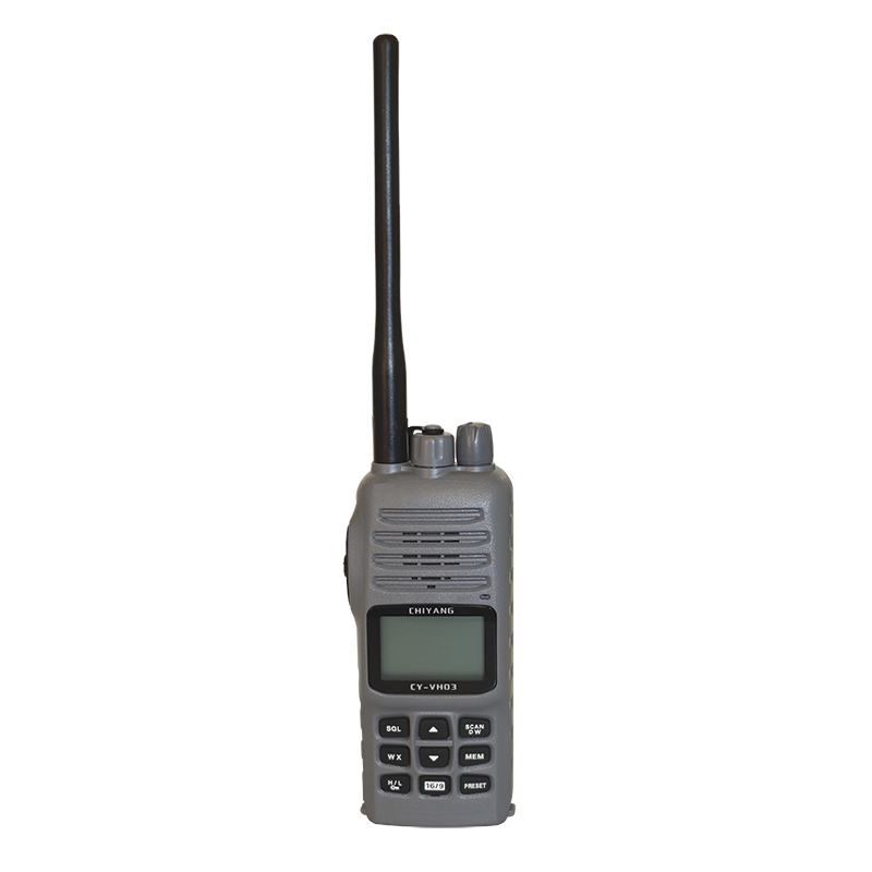 VHF 2Way Radio Explosion-proof, with headset socket, grey image
