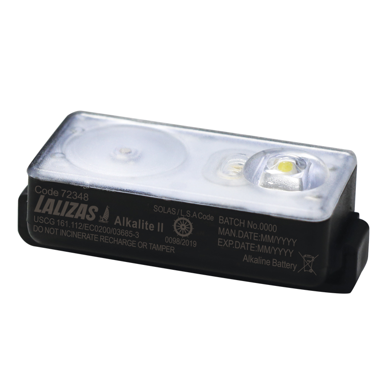 "LALIZAS Lifejacket LED flashing light ""Alkalite II"" ON-OFF water activated, USCG, SOLAS/MED image"