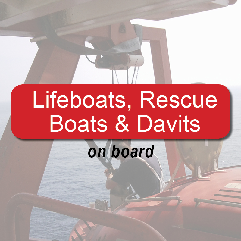 Lifeboats, Rescue boats & Davits - on board image